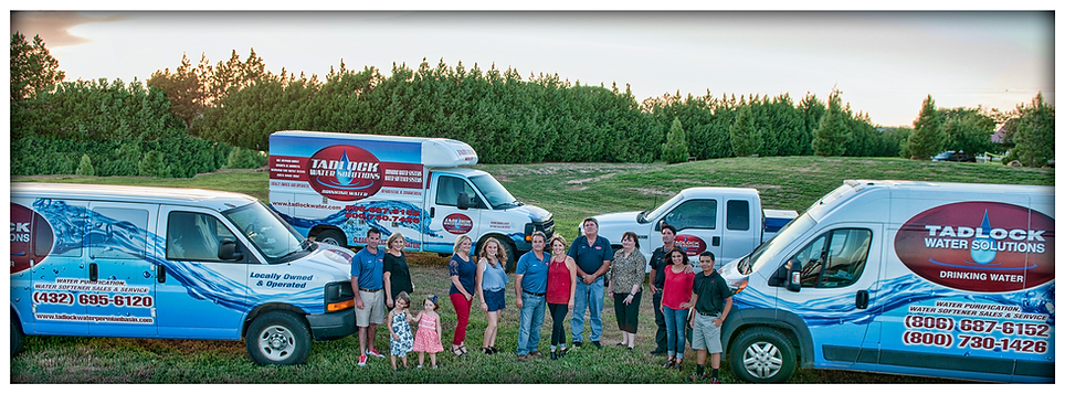 Family owned and operated, Tadlock Water, water softener sales, reverse osmosis sales, ro service, ro sales, water softener sales, water softener service, water purification, water softening