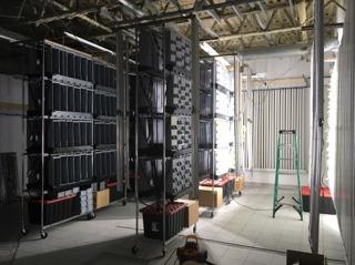Ferme en construction