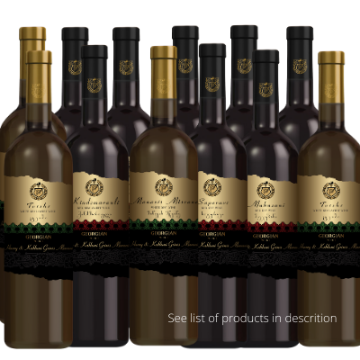 MIXED CASE OF TWELVE WINES – SPECIAL OFFER