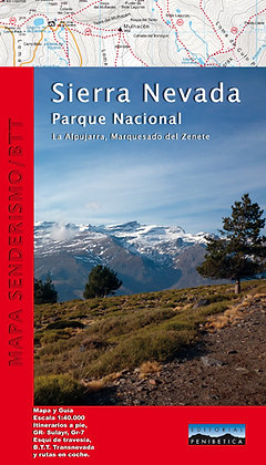 Cartografia del Parque Natural de Sierra Nevada