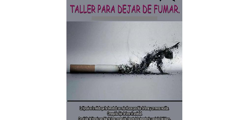 TALLER DEJAR DE FUMAR