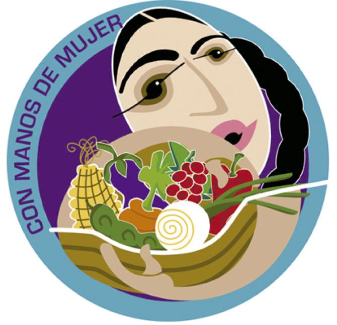 Logo y Marca CON MANOS DE MUJER desde 2009 realizada por Mayacert Certifier
