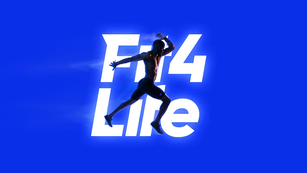 Flyer PErsona Corriendo con Logo Fit4Life