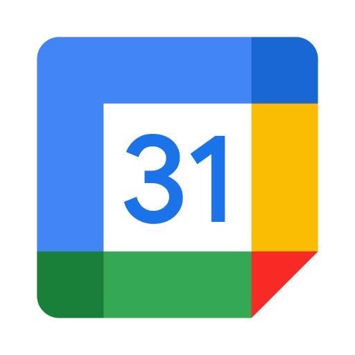 Logo de Google Calendar - 2021