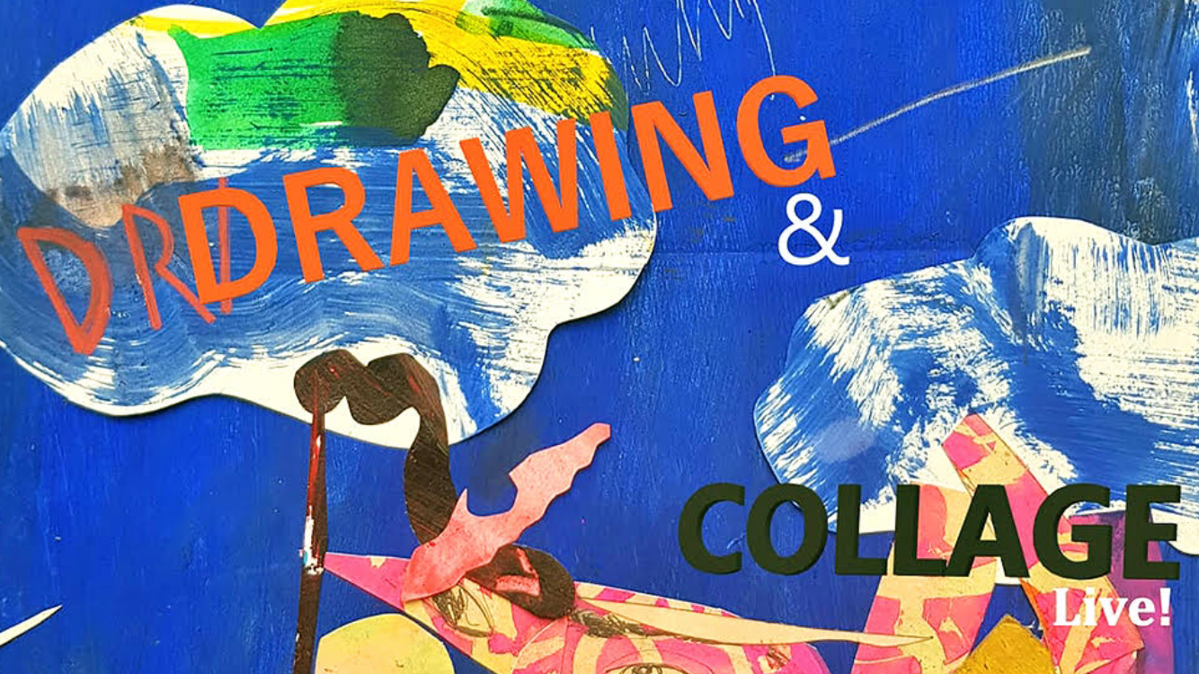 Drawing and collage workshops