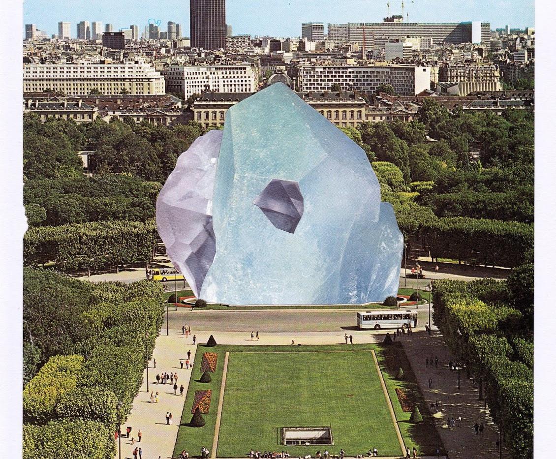 As Seen from the Eifell Tower, Paris