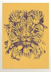 Lion Riso Print sml.jpg