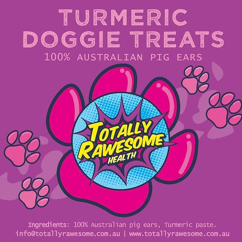 100% Australian Pig Ears with Turmeric