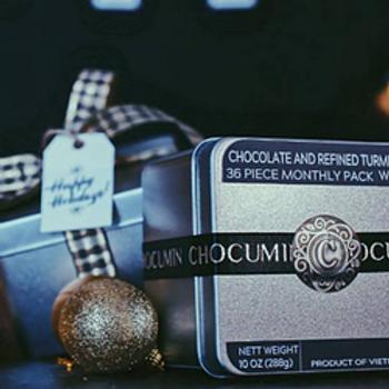 Chocumin 36 Piece Monthly Gift Tin