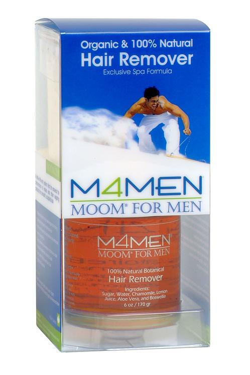 MOOM For Men Organic Hair Removal System