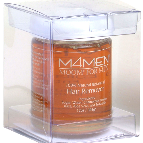 MOOM For Men Organic Hair Removal System Refill Jar 340g
