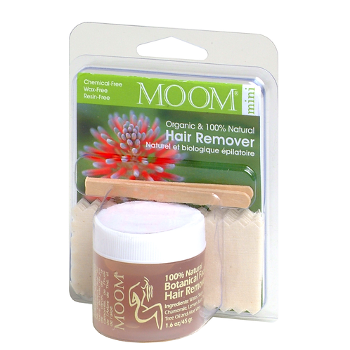 MOOM Organic Hair Removal Face or Travel Kit 45g