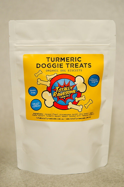 Organic Turmeric Doggie Treats