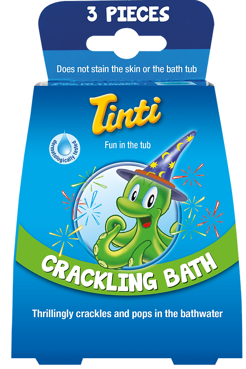 Tinti Crackling Bath Three Pack