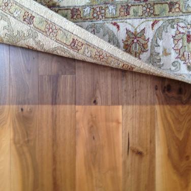 Faded Hardwood Floors