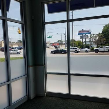 Retail Store Privacy Film