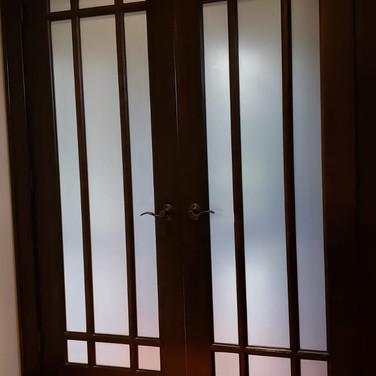Entry Door Privacy Film