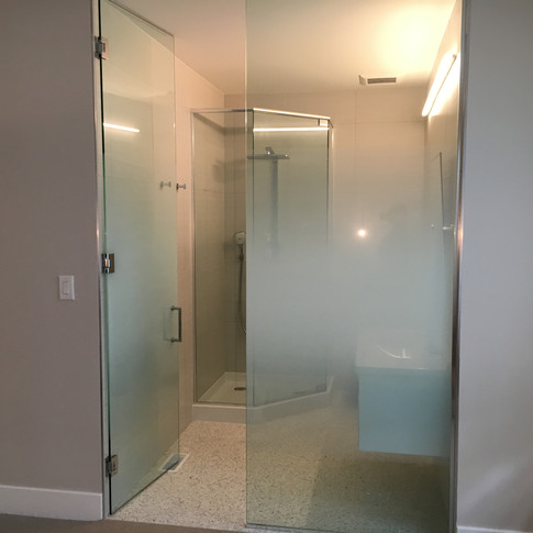 Bathroom Privacy Film