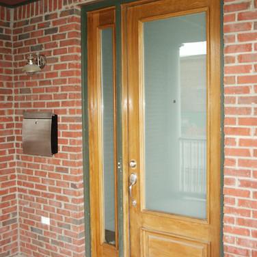 Entry Door Privacy Frost