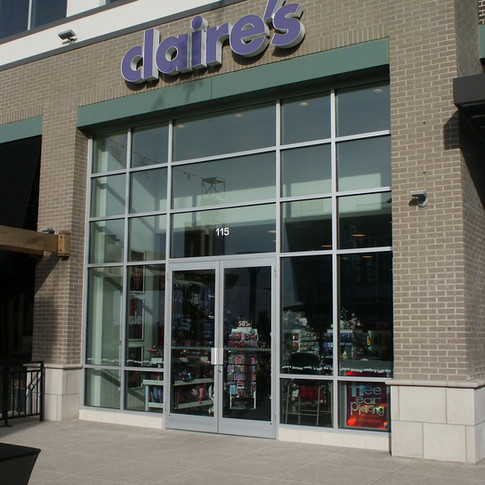 Retail Store Window Film