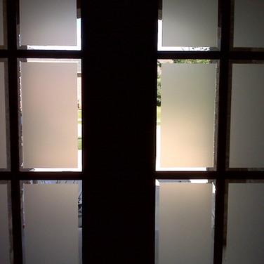 Beveled Glass Entry Film