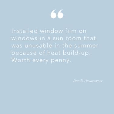 Install window film home