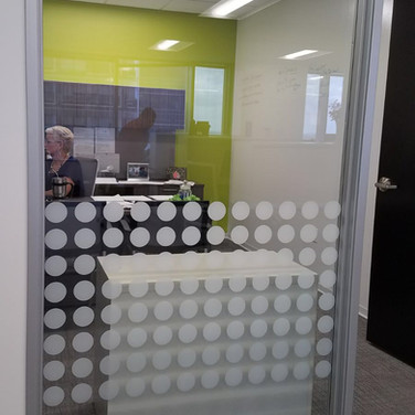 Custom Office Window Film