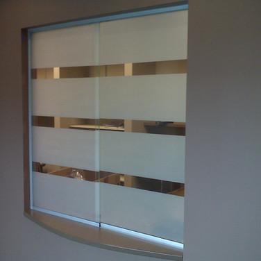 Striped Window Film