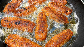 Quinoa Stäbchen oder Taler