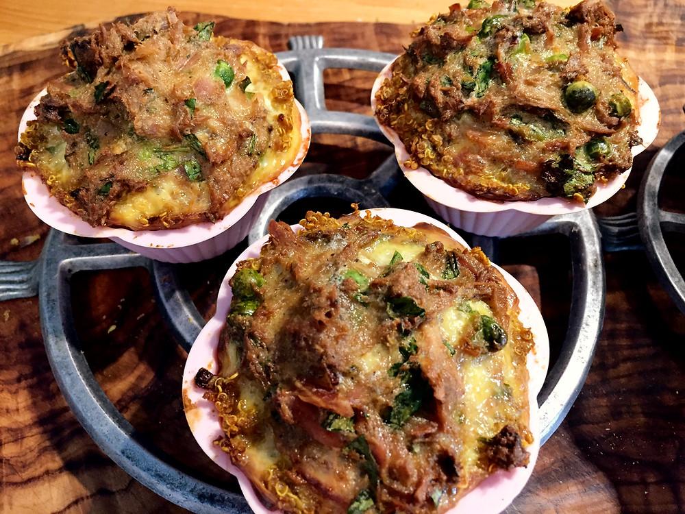 Quinoa-Tunfisch-Muffins