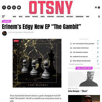The Gambit Review - OTSNY