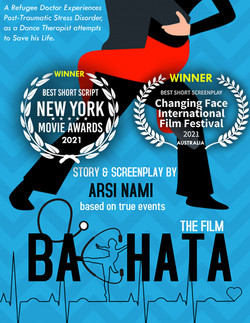 Arsi Nami's Bachata screenplay wins 2021 New York Movie Awards