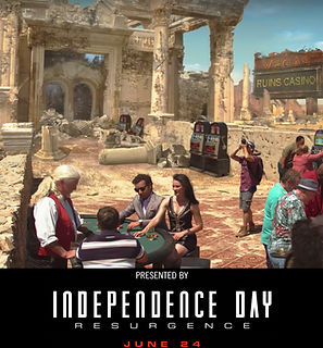 Arsi Nami in Independence Day movie