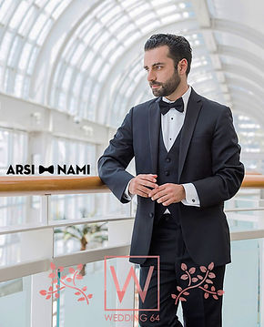 Arsi Nami on Mens Wear Print