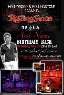 Flickr - Arsi Nami Performance & Birthday Bash at RollingStone Los Angeles
