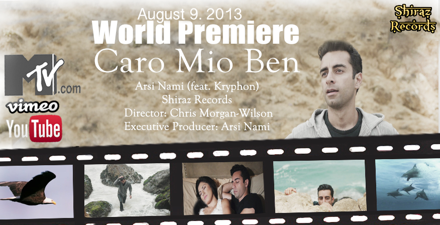 Flickr - Arsi Nami - Caro Mio Ben (feat Kryphon) World Premiere August 9, 2013
