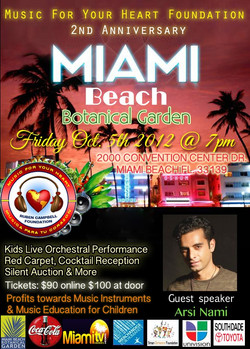 Flickr - Arsi Nami guest speaking at Music For Your Foundation event in Miami