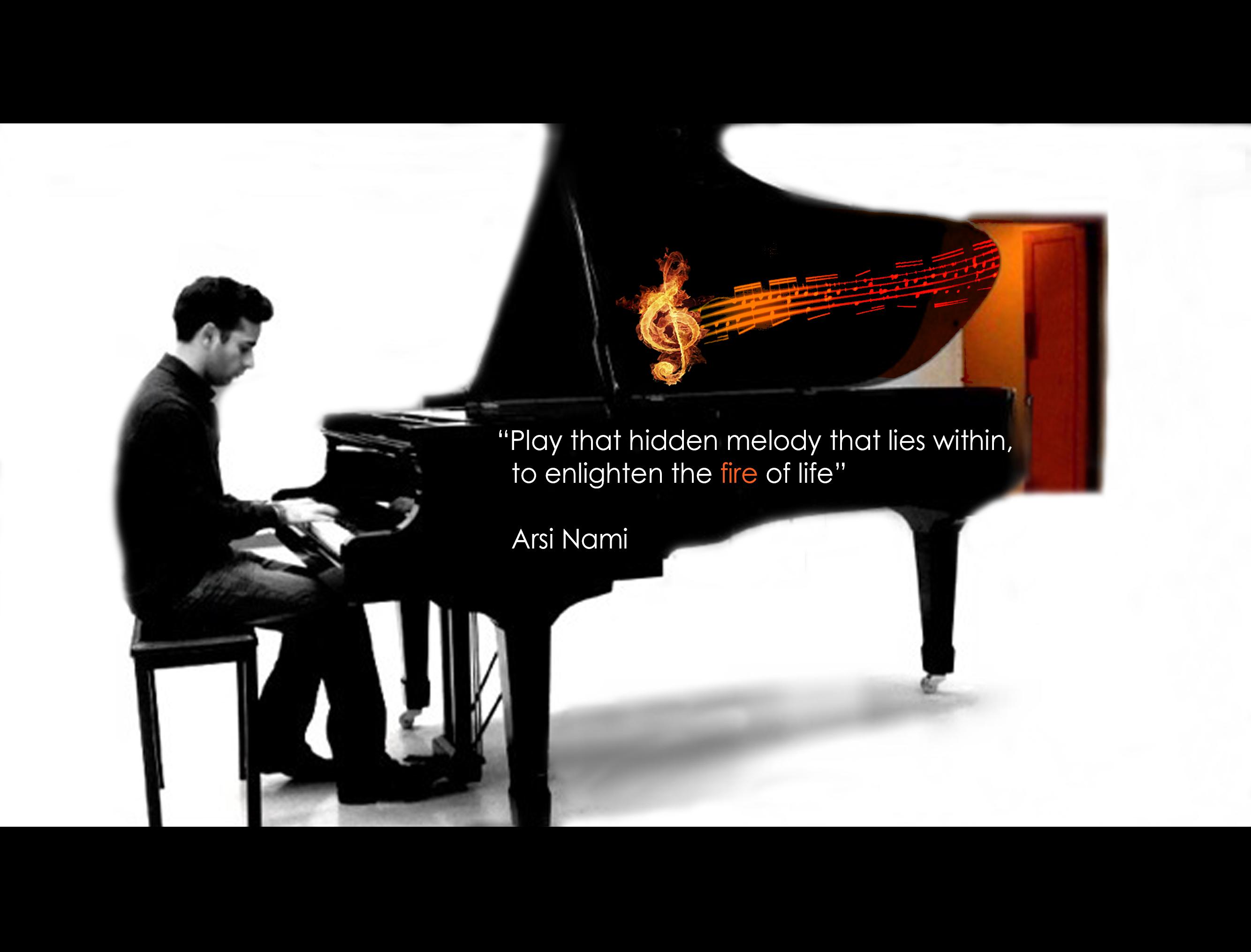 Arsi Nami piano
