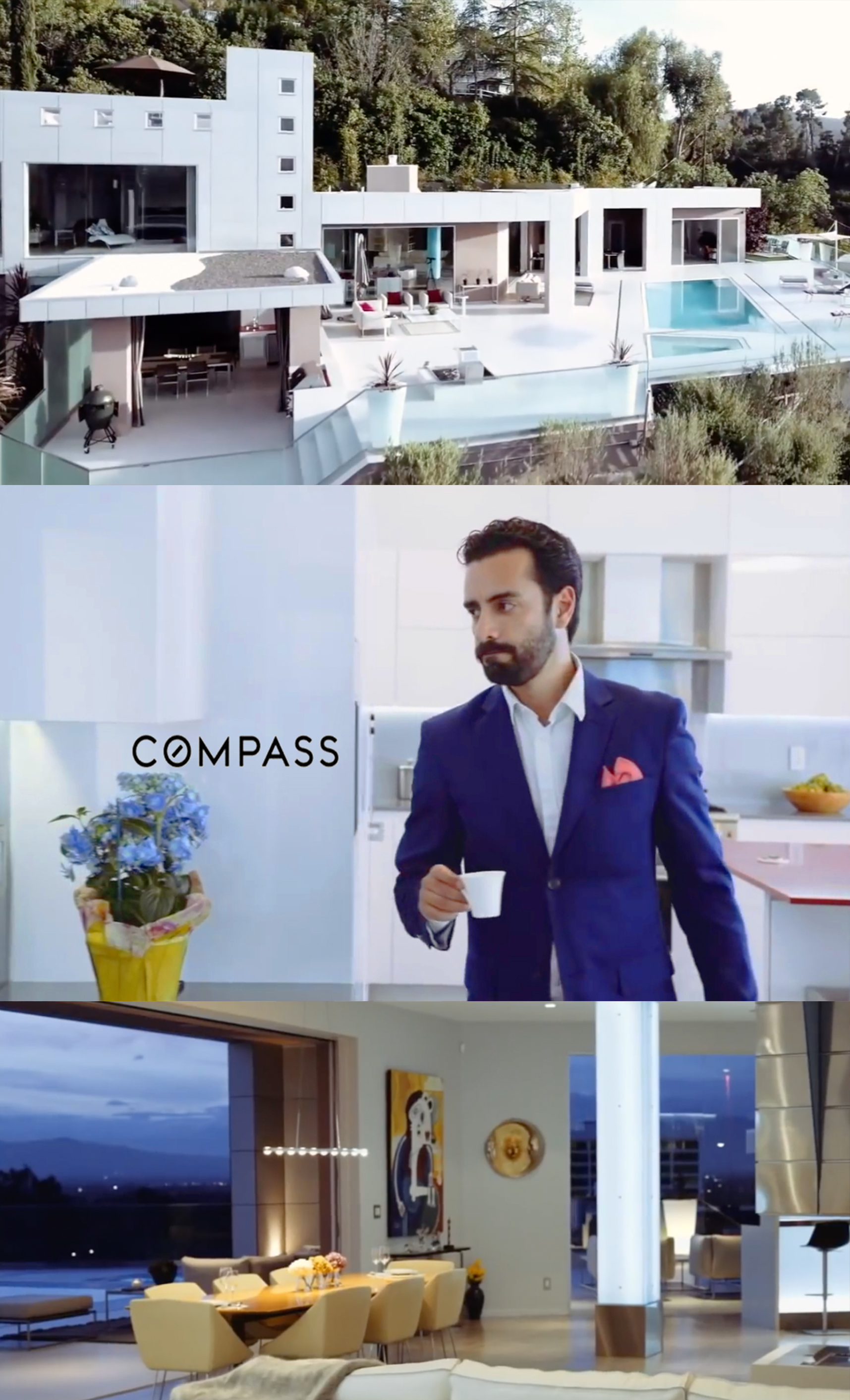 Arsi Nami in Compass ad