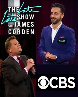 Arsi Nami on James Corden Show
