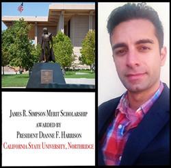 Flickr - Arsi Nami awarded a merit scholarship from President of California Stat