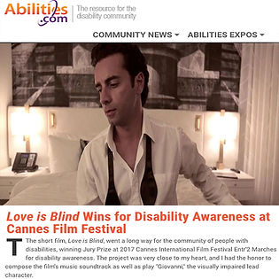 Arsi Nami Cannes Film Festival - Abilities National Magazine