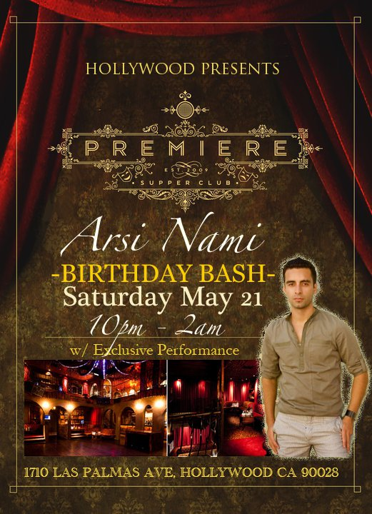 Flickr - Arsi Nami Birthday Bash & Performance at Premiere in Hollywood