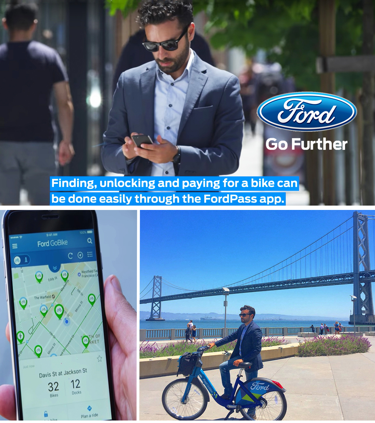 Arsi Nami in Ford GoBikes commercial