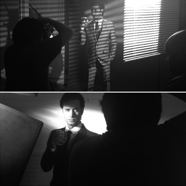 Arsi Nami Models for Film Noir Shoot