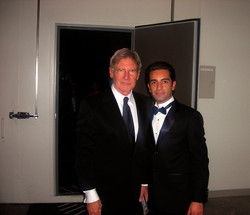 Arsi Nami and Harrison Ford