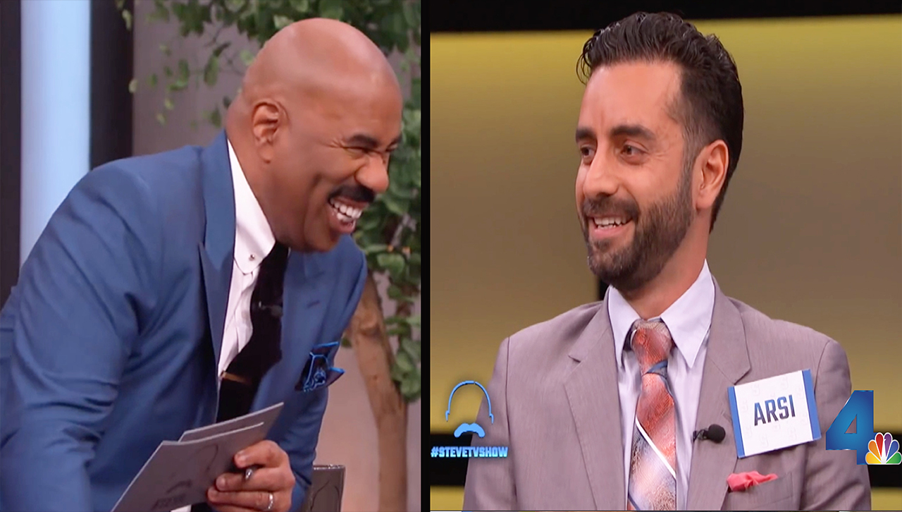 Arsi Nami on Steve Harvey Show