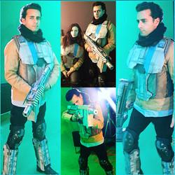 Arsi Nami soldier in Sci-Fi
