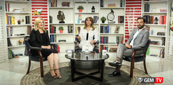 Arsi Nami guest on Gem TV.
