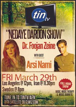 Flickr - Arsi Nami on Tin TV Nedaye Daroon Show with Dr Foojan Zeine